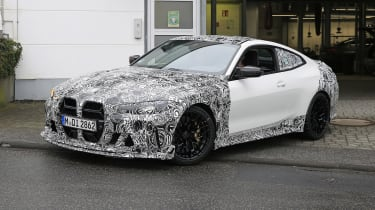 BMW M4 CSL spy 2021 – 5