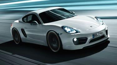Techart tunes mk2 Porsche Cayman