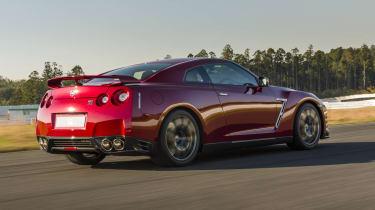 Nissan GT-R 2014 Vermillion Red rear