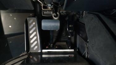 Lamborghini Essenza SCV12 – pedals