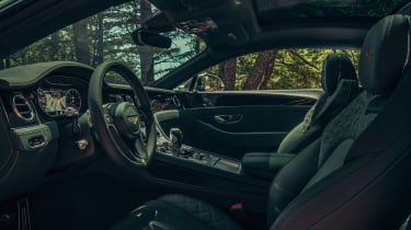 Bentley Continental GT V8 review - interior