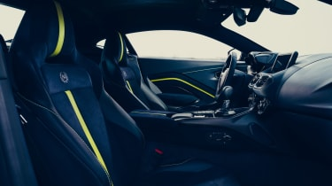 Aston Martin Vantage AMR revealed - dash