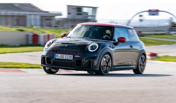 2021 Mini JCW revealed - front cornering