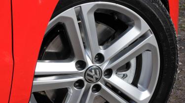 Volkswagen Polo R-line alloy wheel