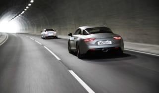 Alpine A110S - tunnel