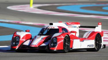 Toyota Hybrid Le Mans 24 hour racer
