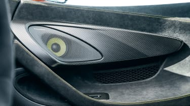 McLaren 600LT first drive - speakers
