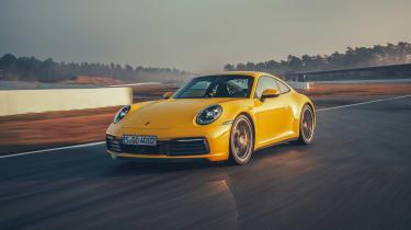 992 Porsche 911 Carrera S review - front quarter