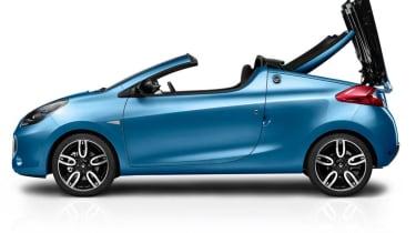 Renault Wind roof mechanism