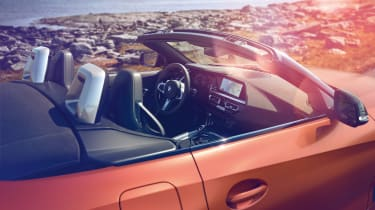 BMW Z4 M40i - dash