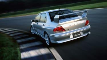 Mitsubishi Lancer Evolution VII - silver