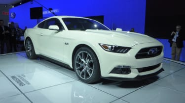 Ford Mustang 50th Anniversary New York show