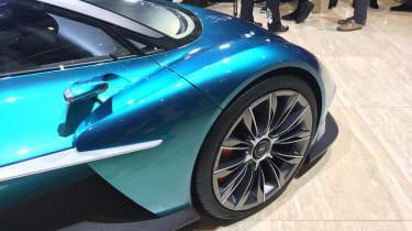 Aston Martin Vanquish Vision concept live - wing