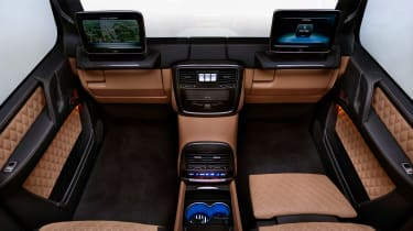 Mercedes-Maybach G650 Landaulet - rear seats