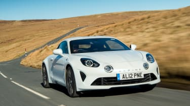 Alpine A110 Pure - front quarter