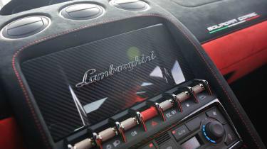 Lamborghini Gallardo Squadra Corse dashboard