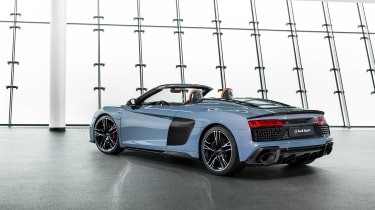 Audi R8 Spyder facelift - rear quarter