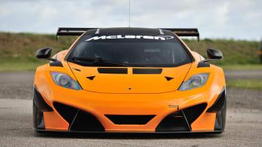McLaren 12C Can-Am front splitter