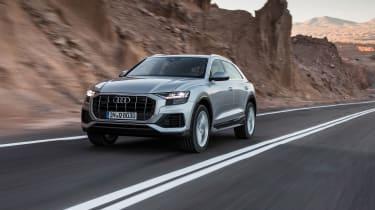 Audi Q8 – front quarter