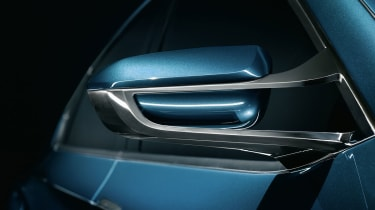 2014 BMW X4 Concept mirror