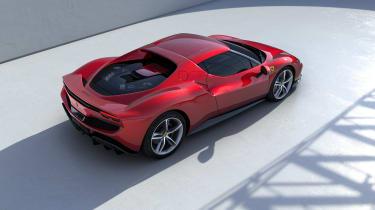 2022 Ferrari 296 GTB – rear quarter tall