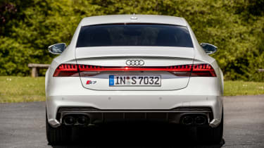Audi S7 TDI - rear