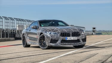BMW M8 Competition prototype - front quatyer