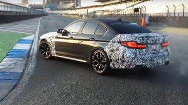 BMW M5 CS teaser