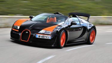 Best convertible cars: Bugatti Veyron Grand Sport Vitesse
