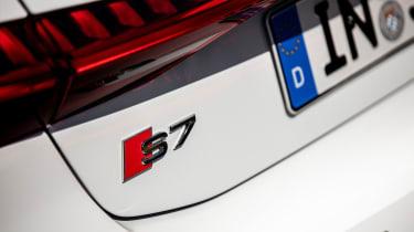 Audi S7 TDI - badge