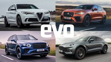 Best performance SUVs 2021 header