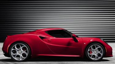 Alfa Romeo 4C side profile