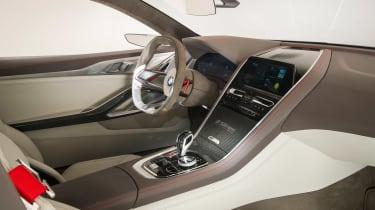 BMW 8-series concept - interior