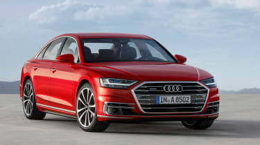 All-new Audi A8 red - front 3.4