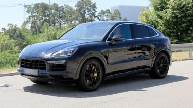 Porsche Cayenne Coupe spy -