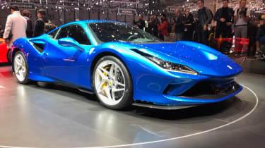 Ferrari F8 live - side