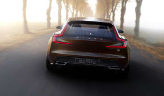 Volvo Concept Estate rear view