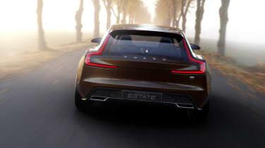 Volvo Concept Estate rear view