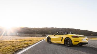 Porsche 718 Boxster GTS – rear quarter