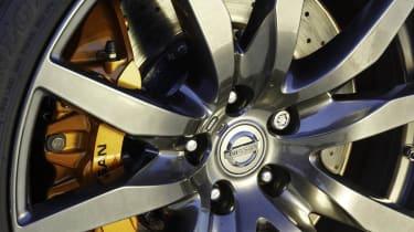 Nissan GT-R alloy wheel