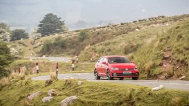 Volkswagen Polo 6 GTI - cornering