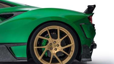Mansory F8XX wheel