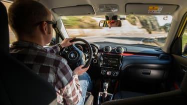 Suzuki Swift Sport – interior
