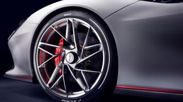 Pininfarina Battista wheel teaser