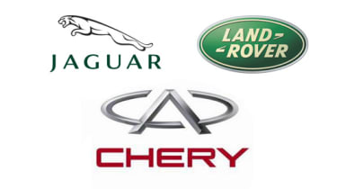 Jaguar Land Rover announce partnership with Chery