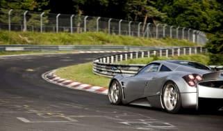 Pagani tyres developed at the Nurburgring