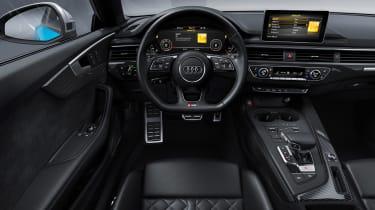 Audi S5 TDI - dash