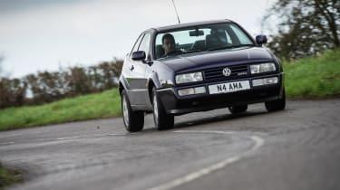 Volkswagen Corrado VR6 cornering