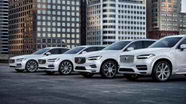 Volvo EV announcement - range