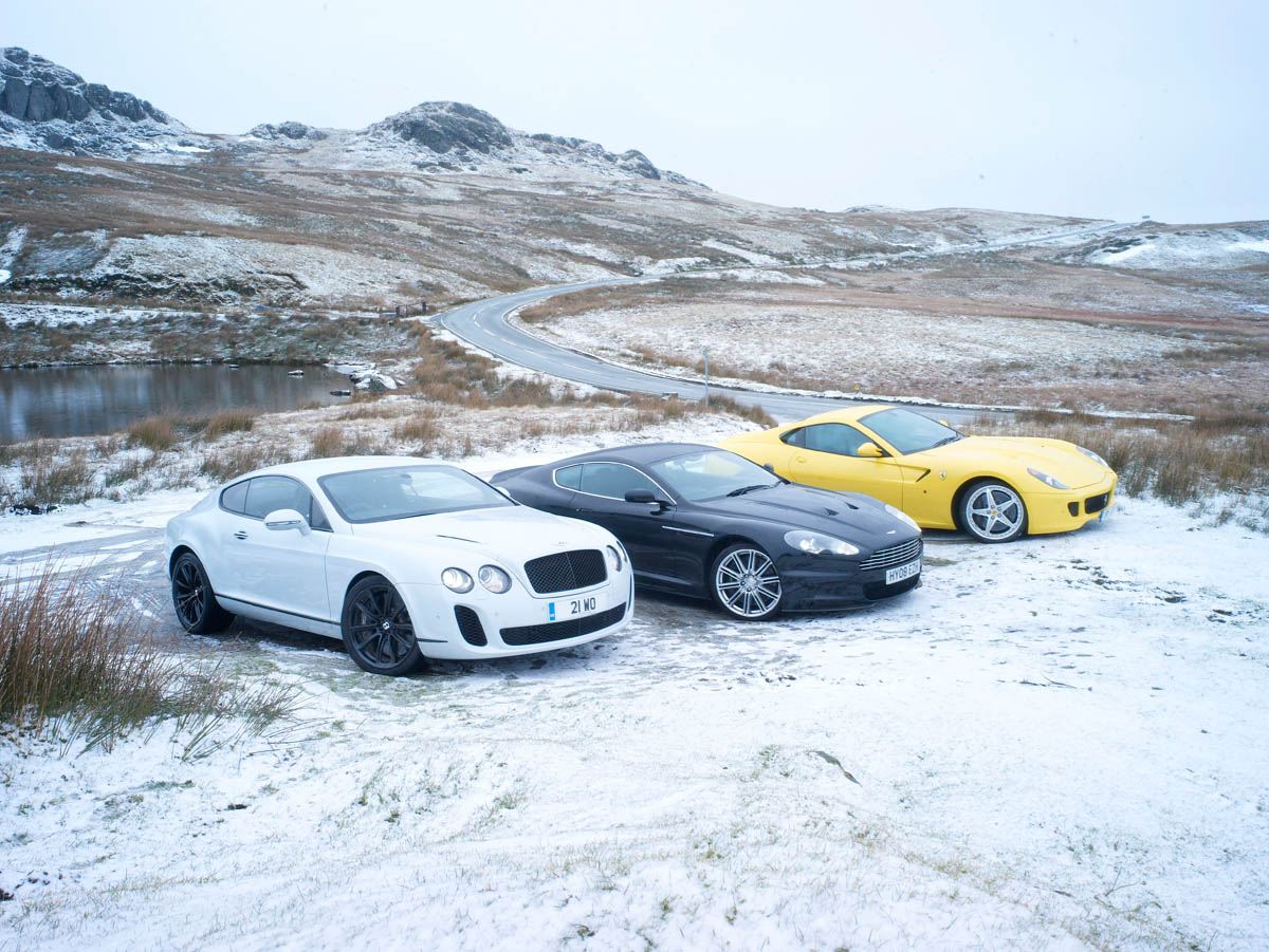 Bentley Continental Supersports V Ferrari 599 Hgte V Aston Martin Dbs Evo